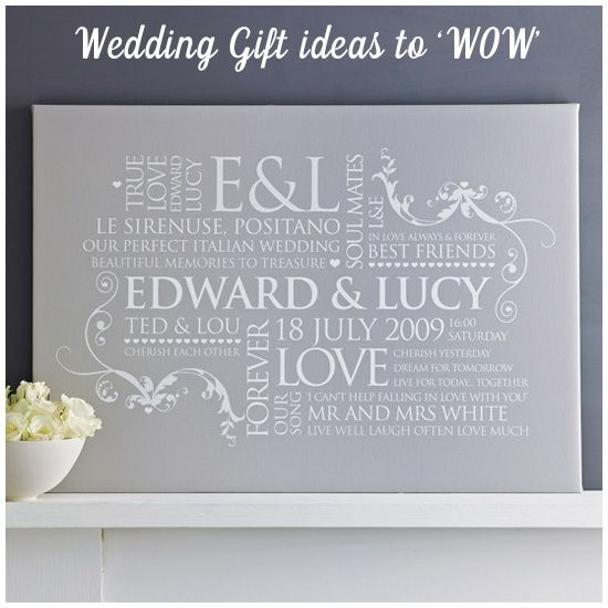 wedding gifts that wow