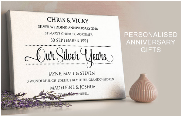 anniversary typography, personalised anniversary gifts, collage for wedding anniversary,